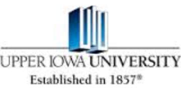 Upper Iowa University logo
