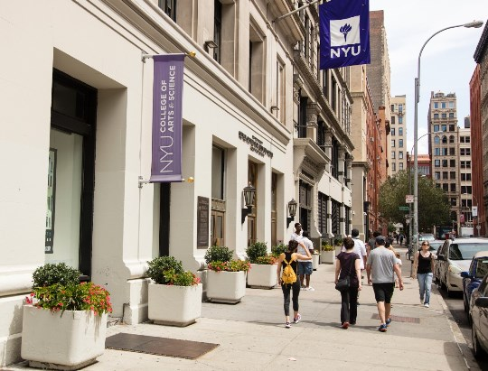 NYU Campus. Founded In 1831, New York University ...