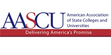 The American Association of State Colleges and Universities logo
