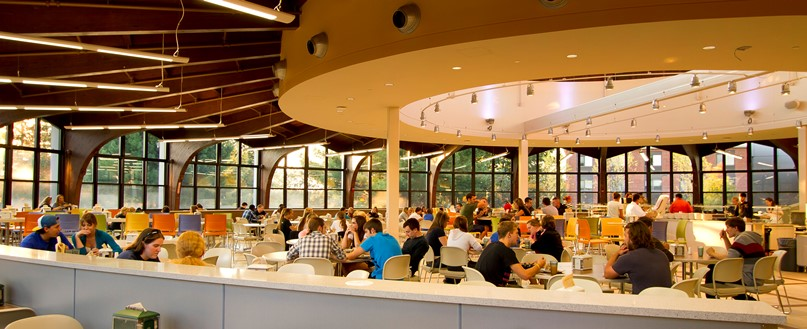 Husson University dining hall