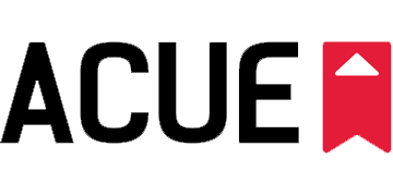 Association of College and University Educators (ACUE) logo