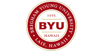 Brigham Young University Hawaii logo