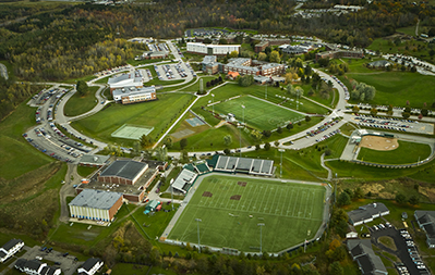 Husson University aerial