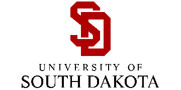 The University of South Dakota logo